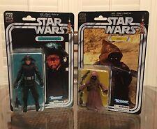 """Star Wars Black Series 40th Anniversary Death Squad Commander & Jawa Set 6"""""""