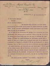 Antique Commercial Letter / Miguel Truyol & Co./ Guayama Puerto Rico / 1915 #2