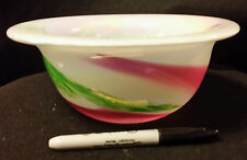 Unusual Glass Bowl From Japan-ship free