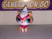 Littlest PetShop Chat Maincoon SAUMON YEUX BLEUS 3077 G48 CAT Pet Shop