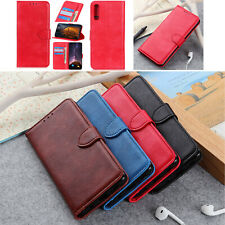 Litchi PU Leather Wallet Case Card Cover For Xiaomi Mi 6X 8 9 F1 Redmi S2 6 6A 7