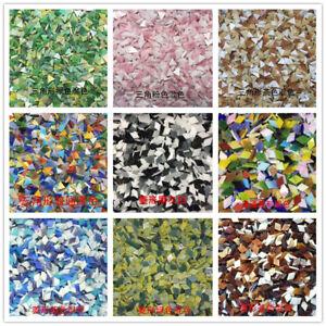 DIY Mosaic Handmade Material Mosaic Tiles Mixed Color Mica glass