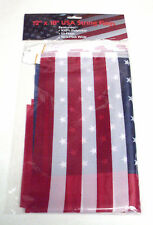 "16' String 12"" x 18"" USA String Flags Party Banner"