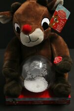 Rudolph The Red Nosed Reindeer 9 in Animated Rudolph Plush Doll