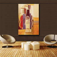 """Pablo Picasso""""Piano abstraction"""" HD print on canvas huge wall picture (31x47)"""