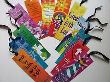 72 Religious BOOKMARKS church Sunday School VBS Christian book mark
