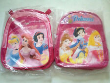 NEW DELUXE Medium BACK PACK/SCHOOL BAG WITH Three Princess