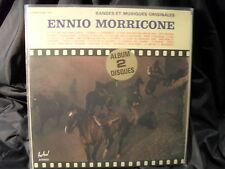 Ennio MORRICONE-BANDE et musiques originales 2 LPS