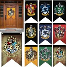 Gryffindor, Slytherin, Ravenclaw Hogwarts College Harry Potter House Banner Flag