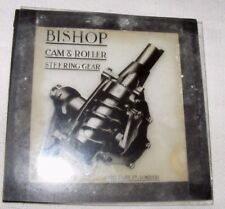 VINTAGE MAGIC LANTERN SLIDE OF BISHOP'S ADVERTISING CAM ROLLER STEERING GEAR