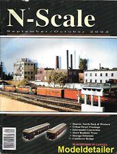 N Scale Sept 2003 Intermodel Laser Kits Adhesives PRR G36c Gondola Niagara Cell