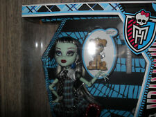 Monster High Frankie Stein Muñeca mascota y diario NRFB