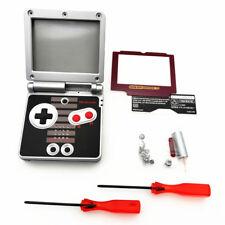 NES Version Red Lens Shell Housing Case For Nintendo Game Boy Advance SP