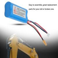 1PCS 2000mAH 7.4V LiPo Rechargeable Battery for  HUINA1580 Engineering Excavator