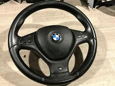 BMW E70 X5 E71 X6 M Technik Leder Lenkrad schwarz + Airbag Lederlenkrad