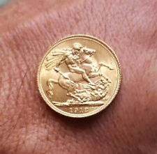 George V Gold full Sovereign, 1912 ....