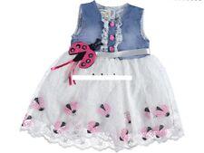 Mädchen Jeanskleid, Partykleid, Kleid Gr. 80, 86, 92, 98