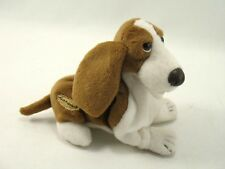 Hush Puppies Beanie Basset Hound Plush Stuffed Animal APPLAUSE 7""
