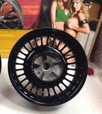 "09-19 Harley Touring Knuckle Looks Talon Turbin Wheel Rims 16"" Rear Black"