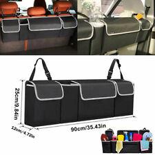 1X Car Trunk Organizer Car Interior Accessories Back Seat Oxford Storage Box Bag
