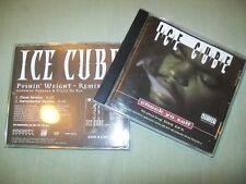 Ice Cube         PROMO CD LOT        Pushin' Weight  --  Check Yo Self