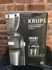KRUPS GX6000 Burr Coffee Grinder with Grind Size & Cup Selection, 8-Ounce, Black