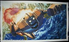 Iron Giant by Alex Ross MondoCon Exclusive Limited Art Print Mondo RARE!