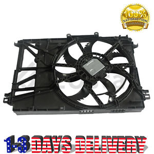 Radiator Condenser Cooling Fan Assembly For 18-20 Toyota Camry 2.5L 1636025010
