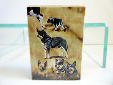 New Australian Cattle Dog Poker Playing Card Set of Cards by Ruth 5 Dogs Acd-Pc