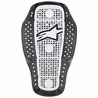 Alpinestars Nucleon KR-1I Motorcycle CE Lightweight Back Protector Black White