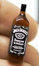 Dollhouse Miniature Bottle of Jack Daniels Whiskey 1:12 Scale