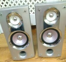 SHARP CP-XL3000H Bookshelf Speakers 40W 6 Ohms in used condition