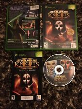 Star Wars Knights of the Old Republic II The Sith Lords CIB Complete