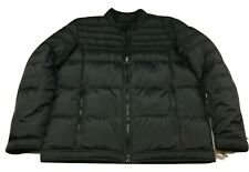 Guess Men's Bomber Puffer Jacket Down/Feathers Size 2XL Black Coat Insulated
