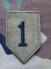 Army Patch Abzeichen Aufnäher für die Uniform 1st Division Big Red One original