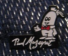 Great advertising push pin badge food Paul Mazeyrat sausage