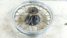 07 Kawasaki KLR650 KLR 650 A rear back wheel rim