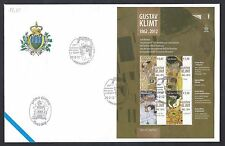 San Marino 2012 FDC AASFN Gustav Klimt