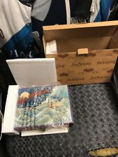 2007 Jim Shore #4009402 - Set of 3 Santa Ornaments in Decorative Box - Retired!