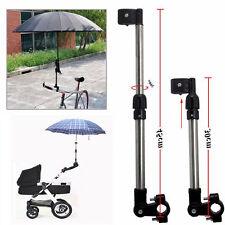 Adjustable Travel Bicycle Pram Puschair Golf Stroller Umbrella Stand Holder