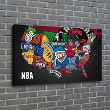 NBA poster Painting HD Print on Canvas Home Decor Room Wall Art Picture