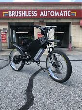 "134v Ebike1 ""The Sleeper"" Hot Rod Ebike Electric Bike Super Fast 13,400watts"