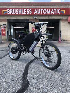"""134v Ebike1 """"The Sleeper"""" Hot Rod Ebike Electric Bike Super Fast 13,400watts"""
