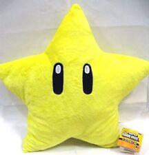 "Nintendo Super Mario Brothers Bros Star Starman 11"" Stuffed Toy Kids Plush Doll"