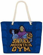 Strandtasche Snake Mountain Gym Shopper Tasche man universe skeletor Fitness he