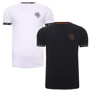 Mens Short Sleeve Designer T-Shirts Casual Tee Cotton Tops Brave Soul