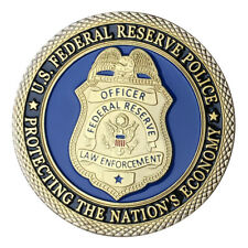 U.S. Federal Reserve Police GP Challenge coin 1421#