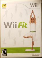NINTENDO Wii FIT (Nintendo Wii, 2008) VERY GOOD CONDITION / COMPLETE / FAST SHIP
