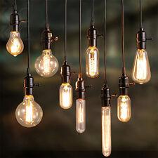 Lot 220V 40W Squirrel Cage Filament Light Bulb Vintage Retro Edison E27 Base