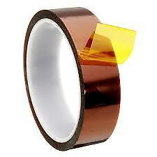 20mm x 36yrd Kapton High Heat Resistant Polyimide Tape 1.5mil